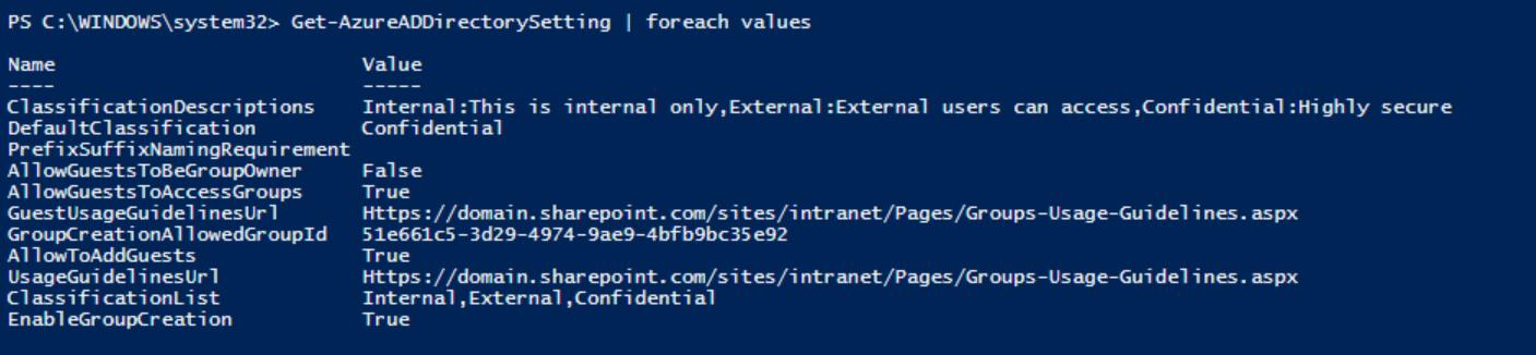 Managing Office 365 Groups Using Azure AD Powershell V2